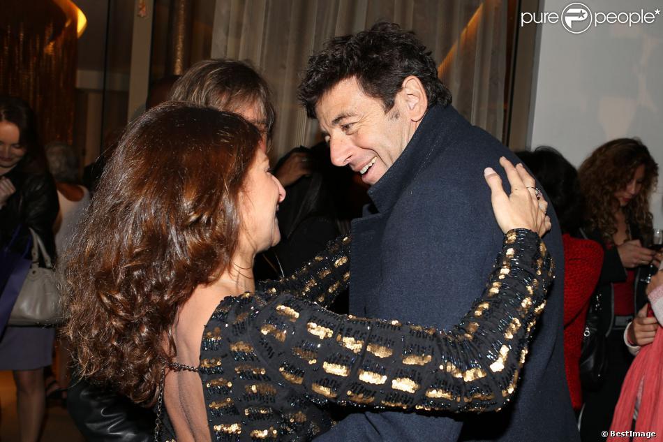 Patrick bruel et sarah guetta l 39 inauguration du nouveau for Sarah guetta salon