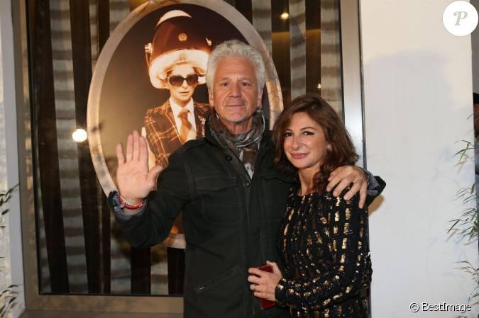 G rard lenorman et sarah guetta l 39 inauguration du for Salon sarah guetta