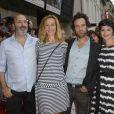 Cécile de France, Romain Duris, Audrey Tautou et Cédric Klapisch - Ouverture du 6e Festival du Film Francophone d'Angoulême le 23 août 2013