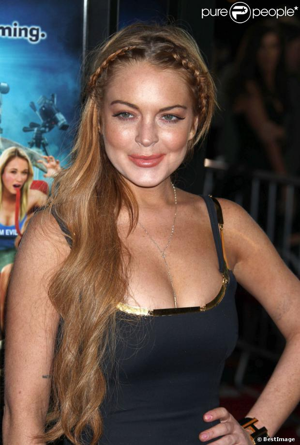"Lindsay Lohan - Première du film ""Scary Movie 5"" au cinéma Arclight à Hollywood. Le 11 avril 2013."