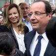François Hollande et Valérie Trierweiler à l'Elysee le 14 septembre 2013 à l'occasion des Journées du patrimoine.