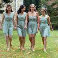 Les demoiselles d'honneurlors du mariage d'Euan Blair et Suzanne Ashmanà Wooten Underwood, le 14 septembre 2013.