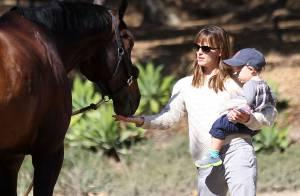 Jennifer Garner : Complice avec son fils Samuel, premier fan de son papa