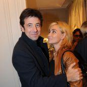 Patrick Bruel, tout sourire, retrouve Emmanuelle Béart, un être cher
