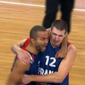 Eurobasket 2013: Tony Parker en larmes après la victoire des Bleus sur l'Espagne