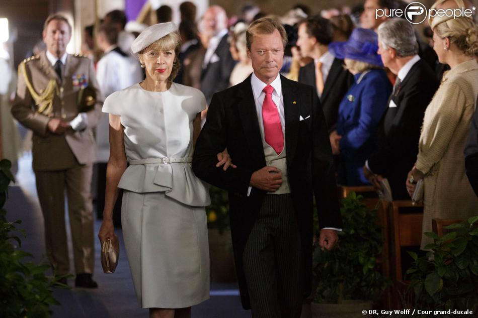photo mariage grand duc henri luxembourg