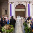 Mariage religieux du prince Felix de Luxembourg et Claire Lademacher en la basilique Sainte Marie-Madeleine de Saint-Maximin-la-Sainte-Baume dans le Var, samedi 21 septembre 2013.