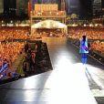 Rihanna lors de son concert à Singapour, le 22 septembre 2013.