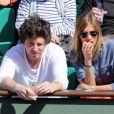 Alexandra Rosenfeld et Jean Imbert à Roland-Garros le 4 juin 2013 lors des Internationaux de France