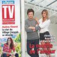 Jean Imbert et Alexandra Rosenfeld en couverture de TV Mag