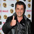 """""""Bebert (chanteur des Forbans) - 12e anniversaire de la chaîne """"Télé Melody"""" au Happy Day's à Paris le 26 septembre 2013."""""""