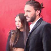 Nabilla et Thomas : Amoureux sexy au show rock de Jean-Paul Gaultier !