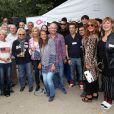 Tournoi de pétanque organisé place des Invalides à Paris et dont les fonds ont été reversés à l'association Meghanora, seule association en Europe à aider la recherche concernant les tumeurs rénales de l'enfant. Le 29 septembre 2013.