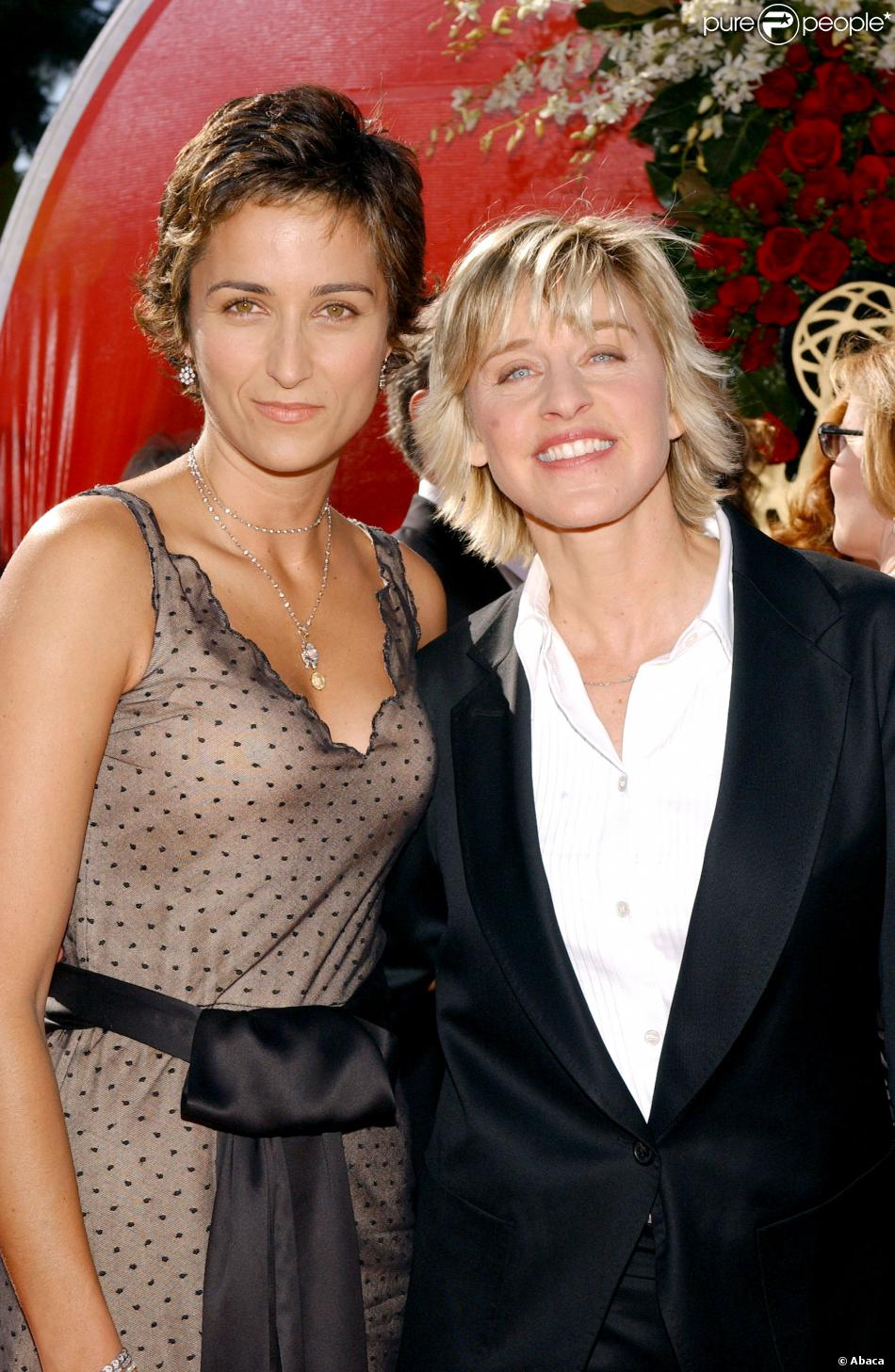 Ellen DeGeneres couple