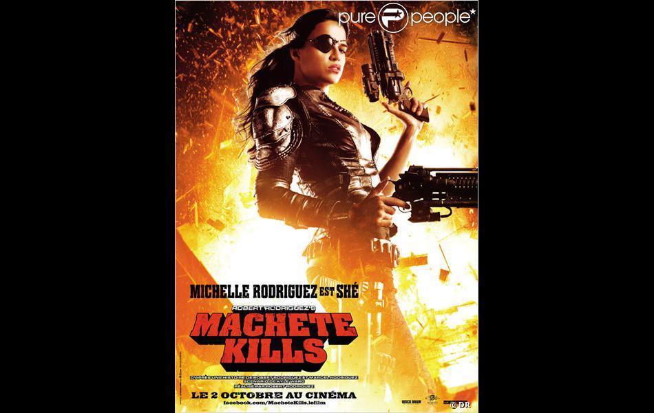 """Michelle Rodriguez dans """"Machete Kills"""", en salles le 2 octobre 2013."""