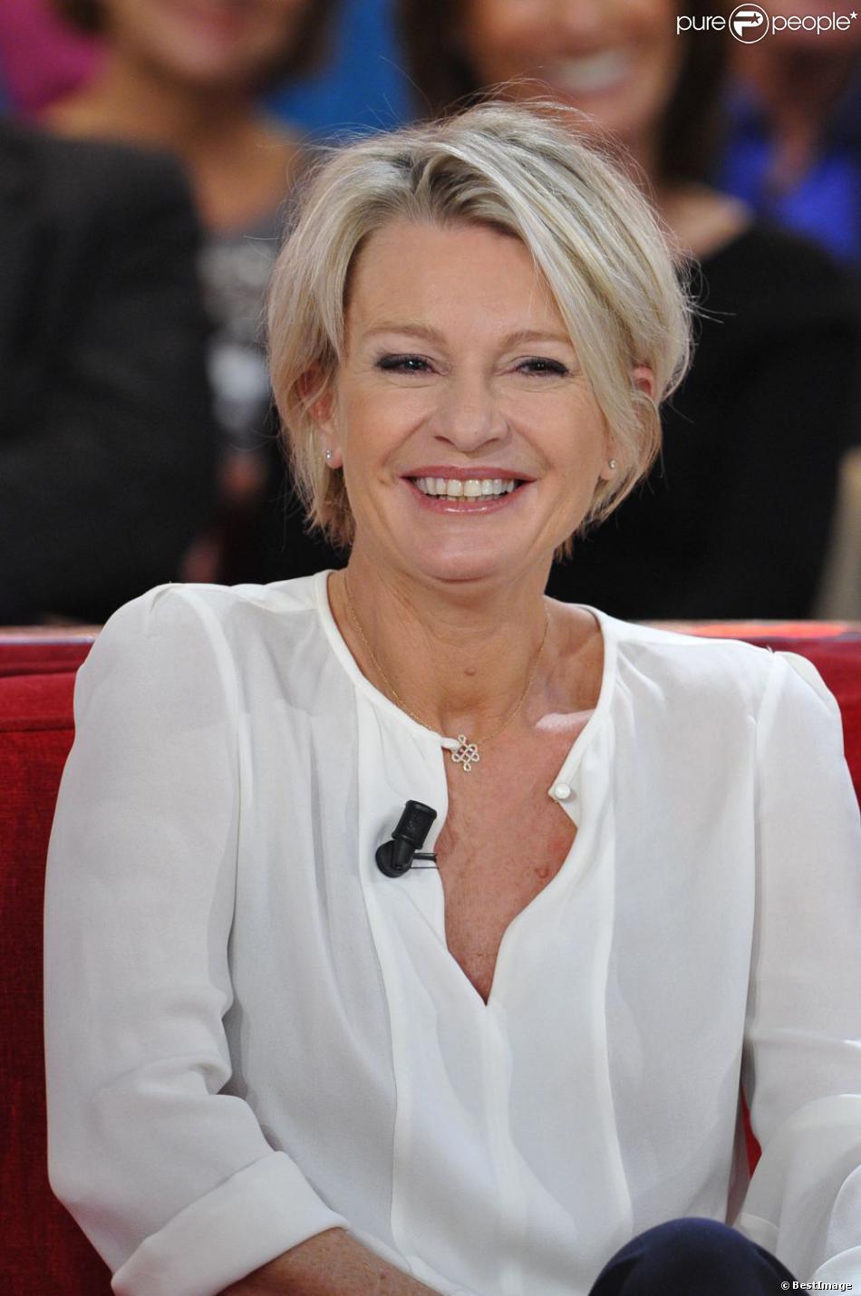 Sophie Davant en décembre 2012 à Paris