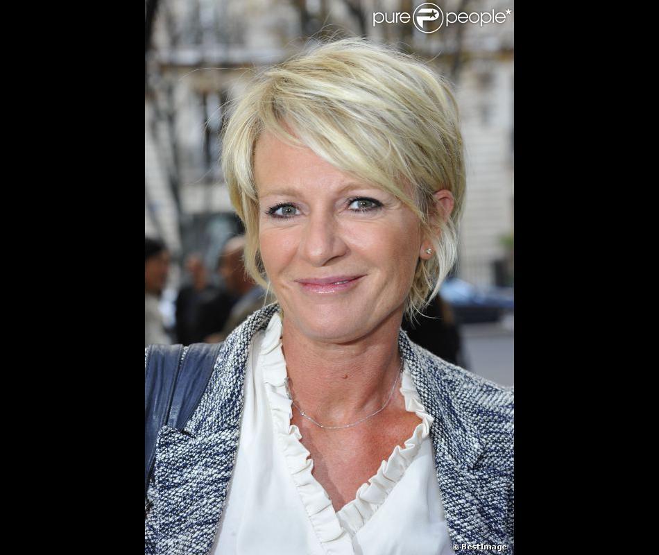 Sophie Davant à Paris en 2012.