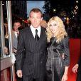 Madonna et Guy Ritchie en septembre 2008.