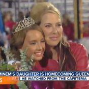 Eminem : Papa fier de sa ravissante fille Hailie, élue reine de son lycée !