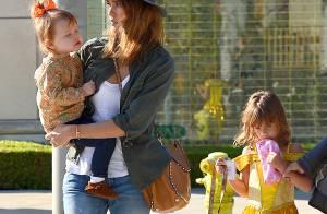 Jessica Alba, stylée avec ses filles : Le trio craquant prépare Halloween !