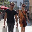 L'actrice Michelle Monaghan et son mari Peter White à West Hollywood le 31 octobre 2011