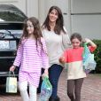 Soleil Moon Frye, Poet Goldberg, Jagger Goldberg arrivent chez Rachel Zoe à Los Angeles en avril 2013