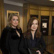 Catherine Deneuve, Isabelle Huppert, Alexandra Golovanoff, trio radieux à Paris