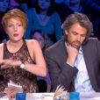 Amanda Sthers malmenée par Aymeric Caron dans On n'est pas couché sur France 2 le samedi 19 octobre 2013