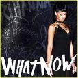 Rihanna sur la couverture de son single What Now, révélée le 16 octobre 2013.