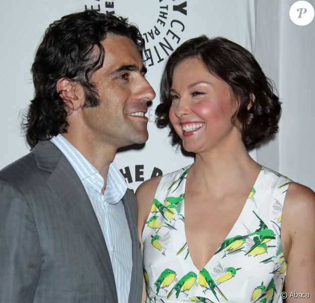 Dario Franchitti et Ashley Judd à Beverly Hills le 11 avril 2012
