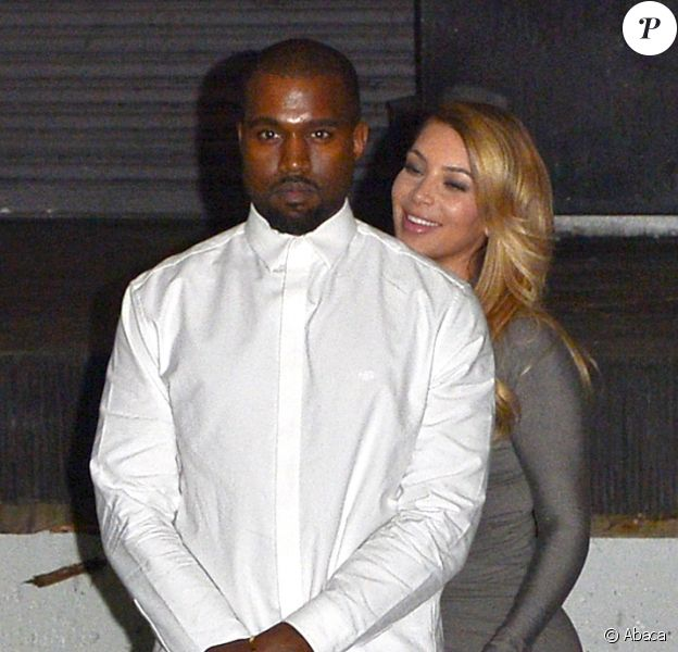 Kanye West et Kim Kardashian à Los Angeles, le 11 octobre 2013.
