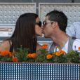 Irina Shayk et Cristiano Ronaldo à Madrid, le 10 mai 2013.