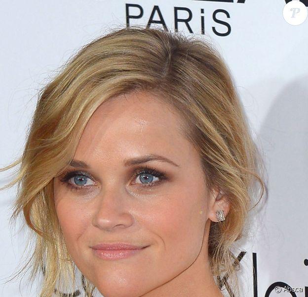 """Reese Witherspoon à la soirée """"Women In Hollywood"""" organisée par le magazine Elle, le 21 octobre 2013 à Beverly Hills."""