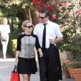 Reese Witherspoon et son mari Jim Toth look à Los Angeles, le 21 octobre 2013.
