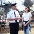 La princesse Mary et le prince Frederik de Danemark avaient réussi à intégrer à l'agenda de leur visite officielle en Australie un crochet par Winmalee, dans les Montagnes Bleues, pour apporter leur soutien aux victimes des incendies dévastateurs en Nouvelle-Galles-du-Sud ainsi qu'aux pompiers et bénévoles sur le terrain.