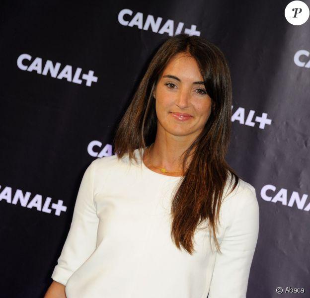 Margot Laffite, fille de Jacques, lors de la soirée de rentrée de Canal+ le 28 août 2013