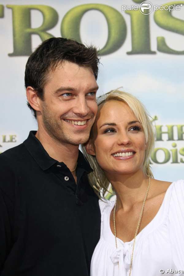 Elodie Gossuin et son mari Bertrand