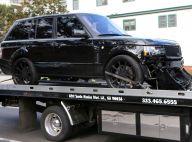 David Beckham accidenté : Sa voiture emmenée au garage dans un sale état