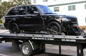 La voiture de cristiano ronaldo est dans un tr s sale tat for Arret voiture garage
