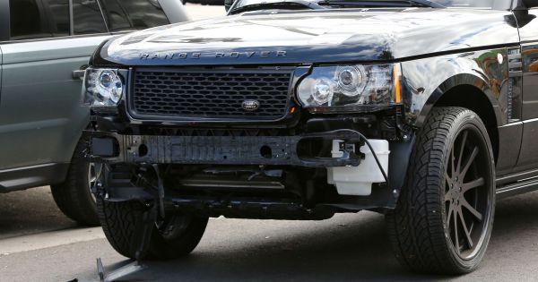 La grosse range rover accident e de david beckham tract e for Garage range rover la rochelle
