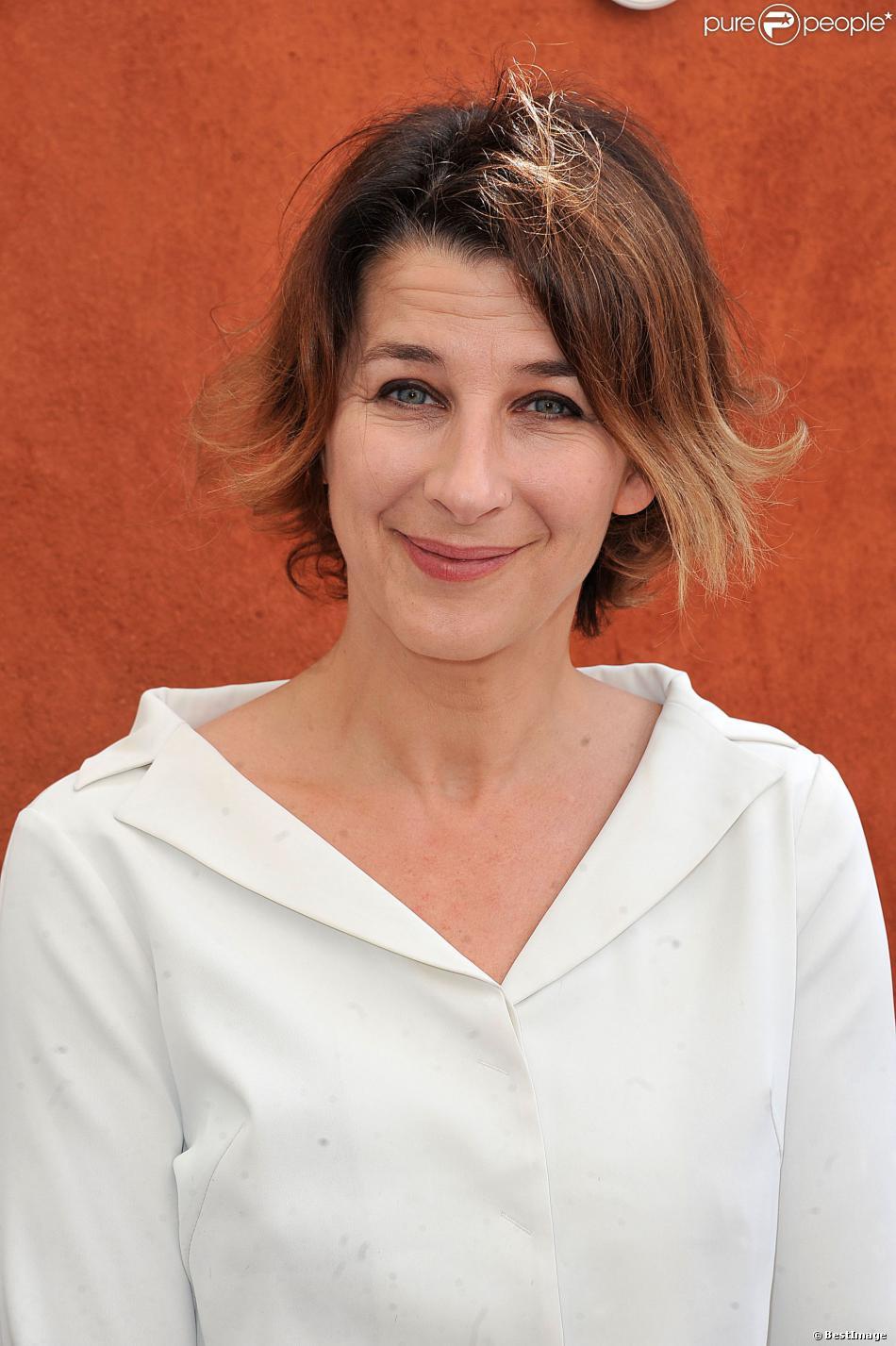 Isabelle Gélinas au Village de Roland-Garros, le 27 mai 2013.