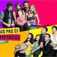 Alexandra Gentil, Bruno Salomone, Canelle Carré-Cassaigne, Guillaume De Tonquédec, Isabelle Gélinas de la série Fais pas ci, fais pas ça, sur France 2.