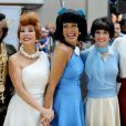 "Al Roker, Kathie Lee Gifford Hoda Kotb, Natalie Morales et Savannah Guthrie - People sur l'emission ""Today"" show a New York le 31 octobre 2013."
