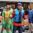 """Vanilla Ice - People sur l'emission """"Today"""" show a New York le 31 octobre 2013."""