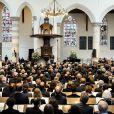 Près de 900 personnes ont pris place en la Vieille Eglise de Delft le 2 novembre 2013 pour l'hommage officiel au prince Friso, décédé le 12 août à 44 ans.