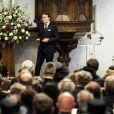 Le prince Constantijn a fait une lecture. Près de 900 personnes ont pris place en la Vieille Eglise de Delft le 2 novembre 2013 pour l'hommage officiel au prince Friso, décédé le 12 août à 44 ans.