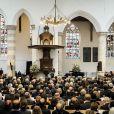 Le roi Willem Alexander des Pays-Bas - Commemoration officielle en hommage au Prince Friso decede le 12 aout a Delft aux Pays-Bas le 2 novembre 2013.02/11/2013 - Delft
