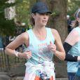 Christy Turlington lors du marathon de New York le 3 novembre 2013