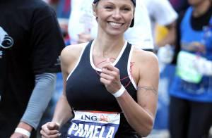 Pamela Anderson au marathon de New York : Épuisée au côté de Marie-José Pérec