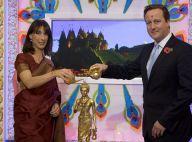 David Cameron et Samantha : À la mode Bollywood pour une grande fête hindoue